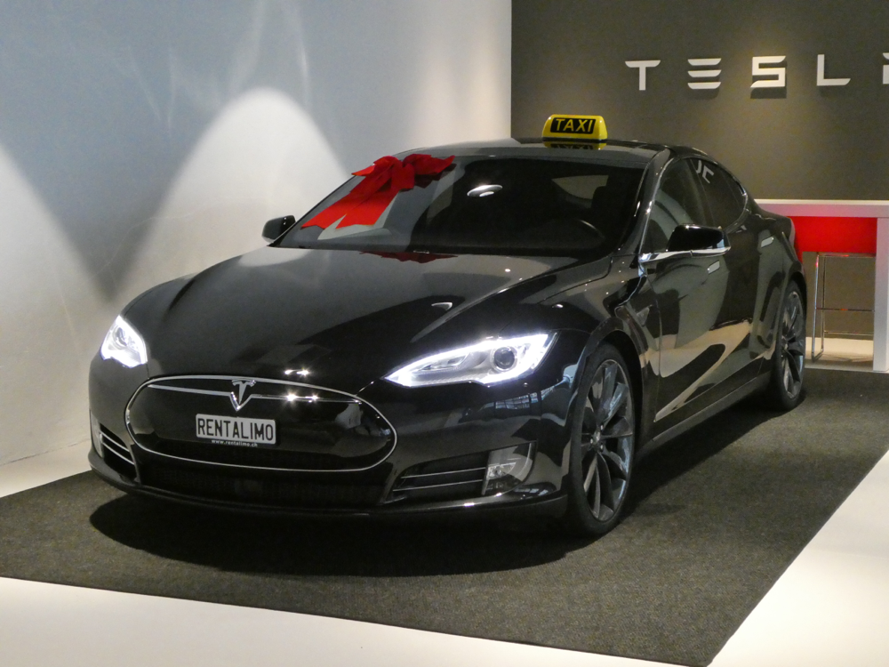 Unser drittes Tesla-Taxi Model S